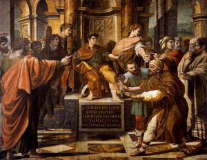 raphael st paul before the proconsul