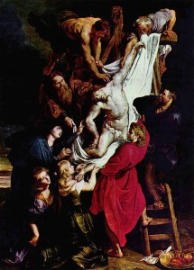 descent from the cross Rubens
